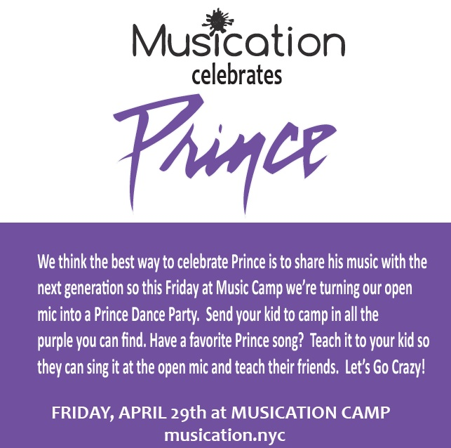 musication camp celebrates prince