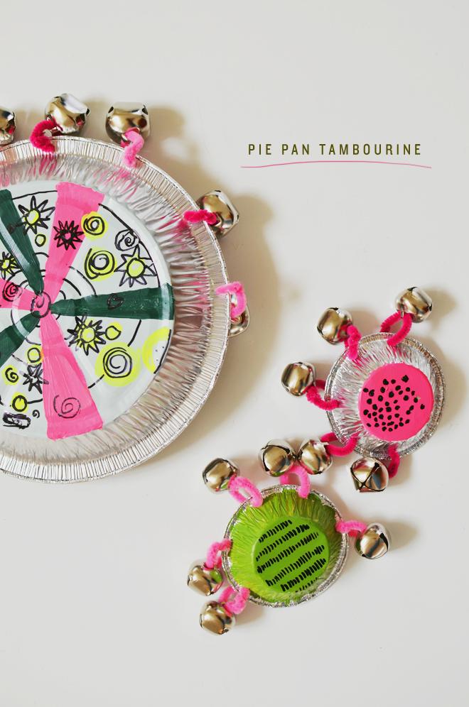 Pie Tin Tambourine