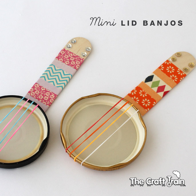 round up of musical instrument crafts