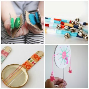Musical Instrument Craft Round Up