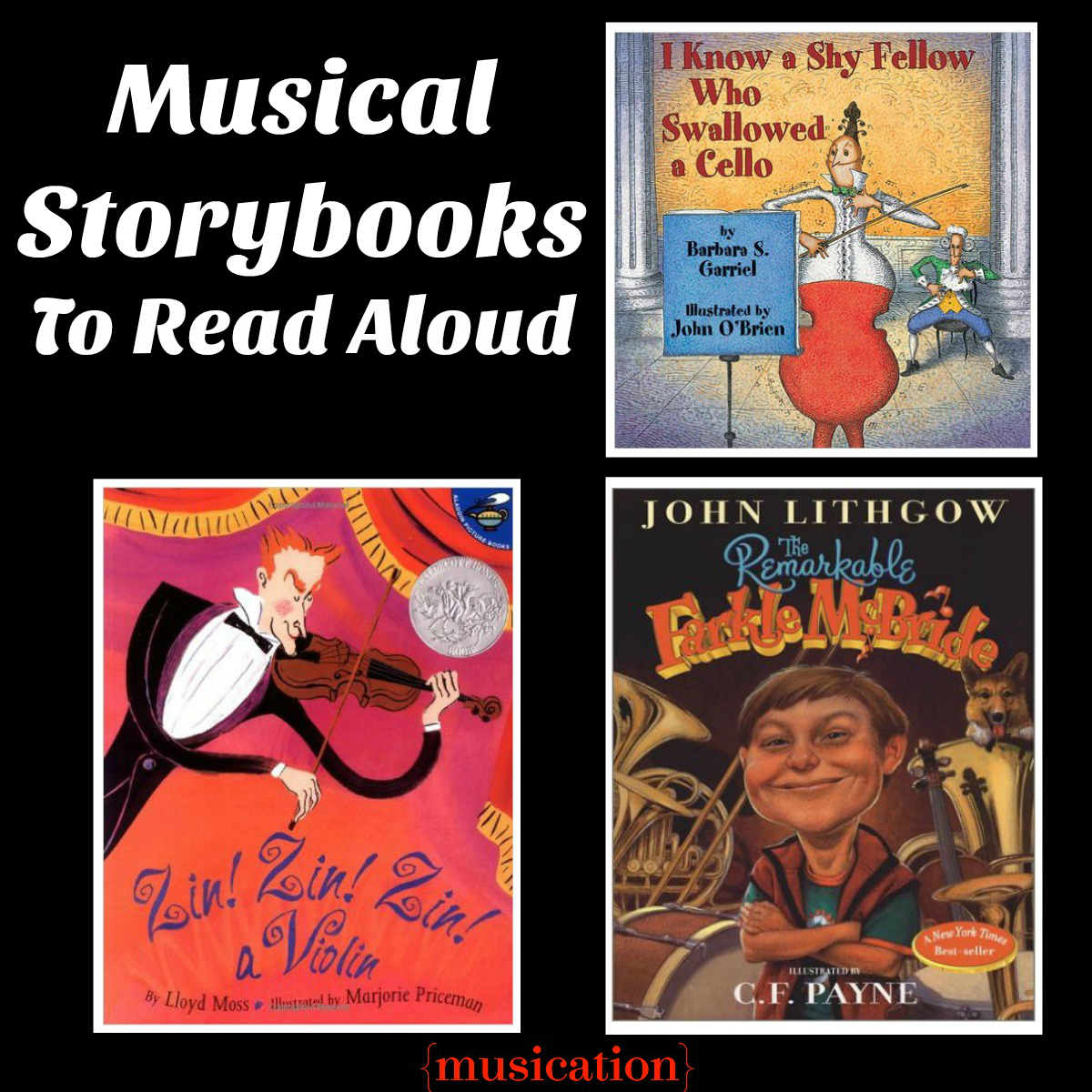 Musical Storybooks To Read Aloud