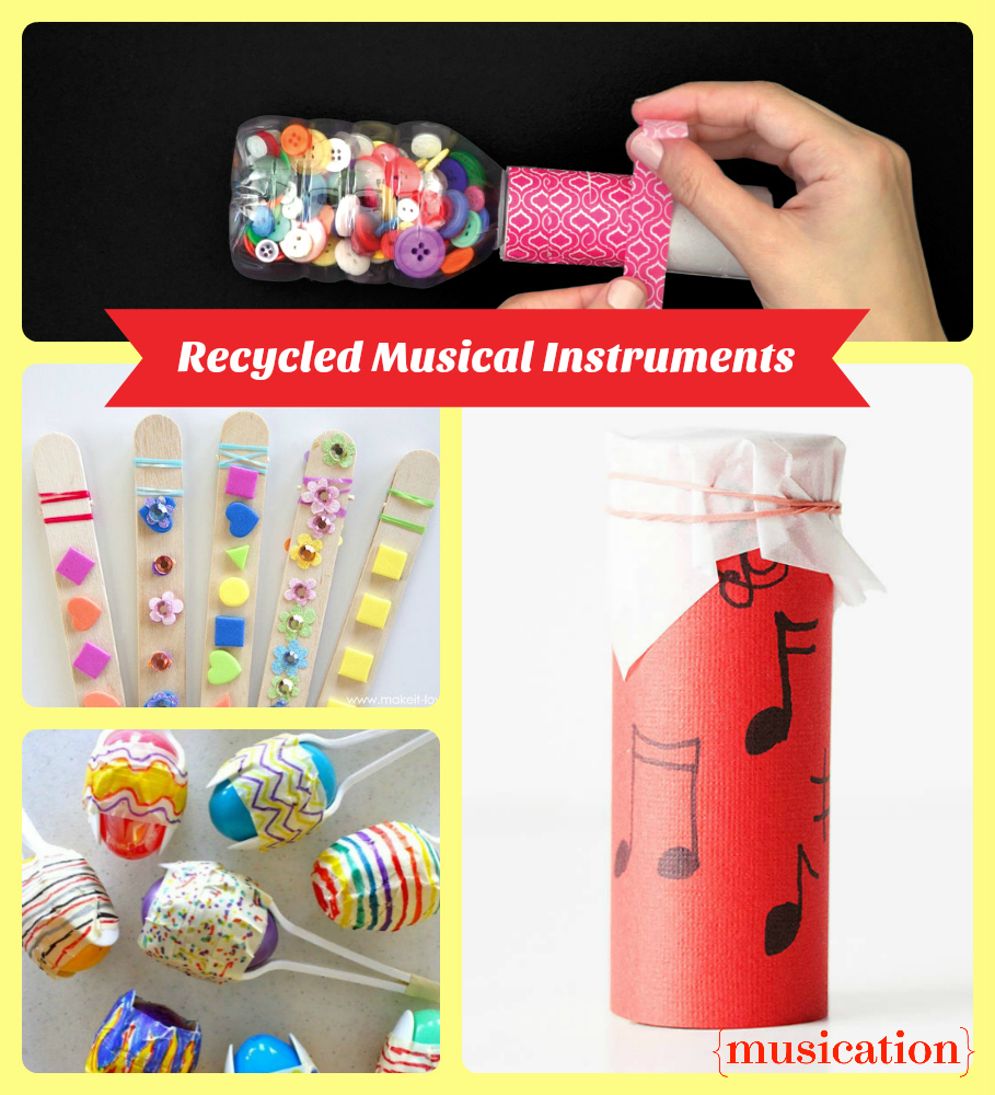Recycled Instrument Craft Projects