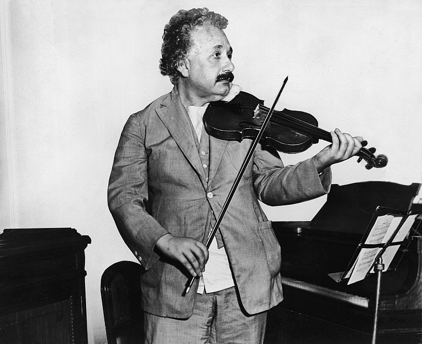 You Don't Have To Be Einstein To Play An Instrument, Although He Did